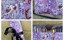 Cosmetic bags and wraps