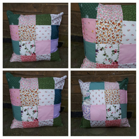 "Cushion 16"" patchwork"