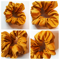 Gold Hair scrunchie.  Free uk delivery.