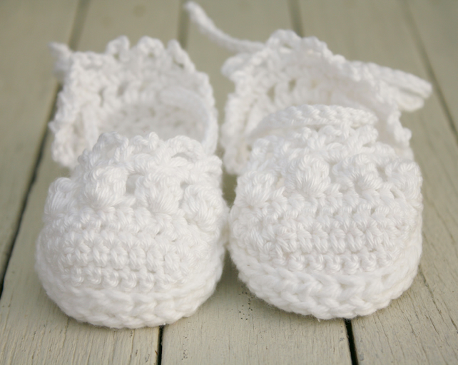 Crochet Baby Shoes, 0-6 Months, Sandals, Baby Espadrille Sandals - Made to Order