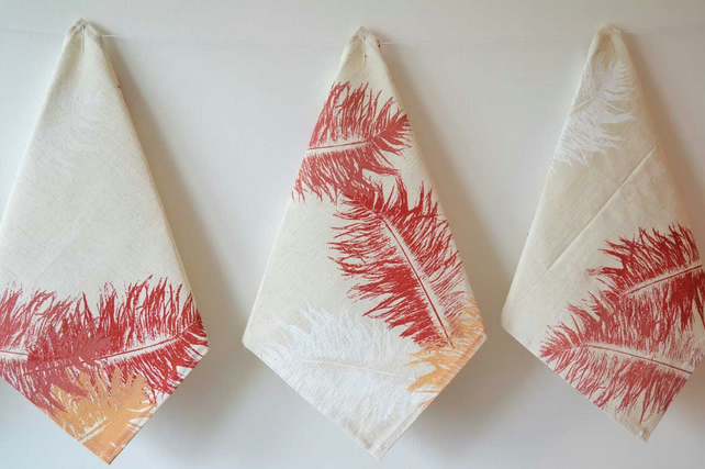Feather Press Napkins