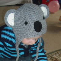 crochet hat - Little Koala Hat