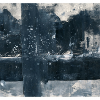 Grey logic - grey scale digital limited edition print