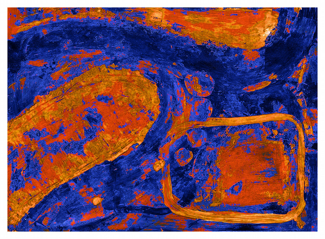 Magma - digital limited edition print