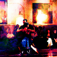 Tango class - limited edition digital print