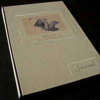 baby's first year journal personalised with your baby's photo