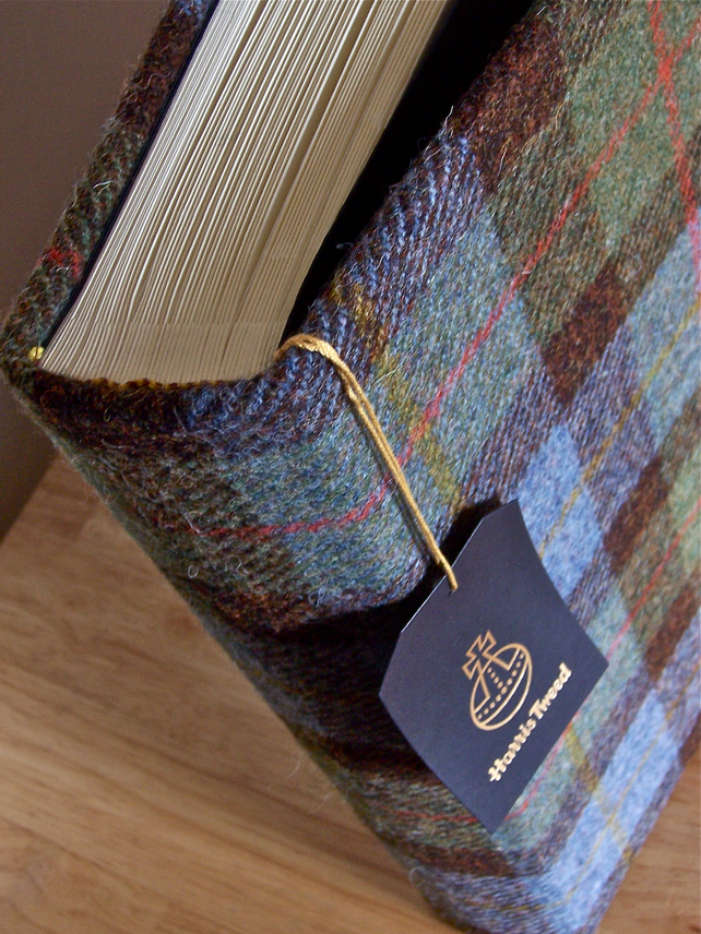 Macleod tweed photo album - large 2 - personalise it!