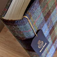 macleod harris tweed photo album - medium 1 (23 x 22.5cm square)