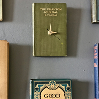 phantom journal book clock