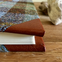 extra large macleod tweed photo album - personalise it!