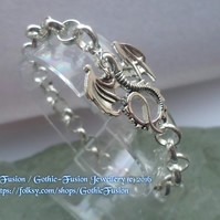 Dragon Chunky Chain Bracelet