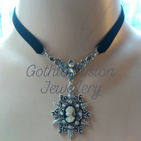 PRIVATE ORDER FOR REBECCA ... Vintage Cameo Choker Necklace ... Jack Choker