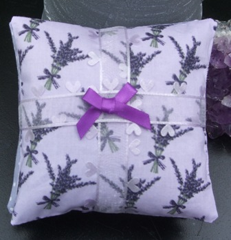 Lavender pillows with Norfolk Lavender