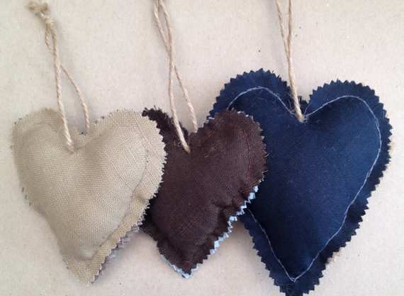 Set of 3 hearts