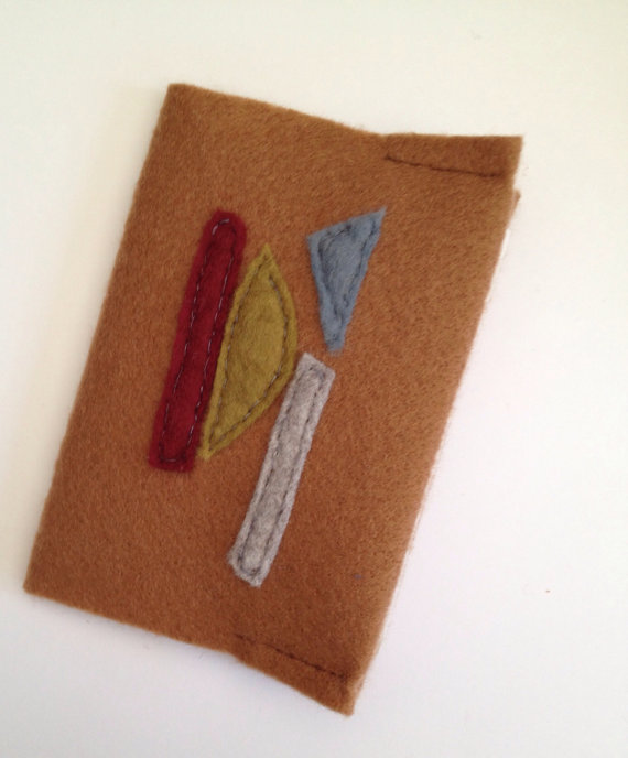 Handmade pocket notebook