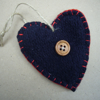 Hand Felted Heart