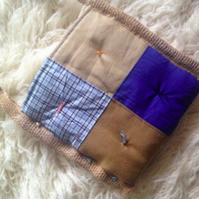 Handmade quilt shoulder bag