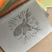 Handprinted handmade notebooks