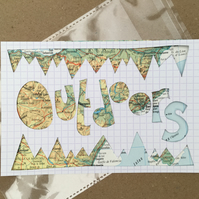 Handcut artwork: Outdoors