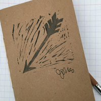 Handprint Notebook