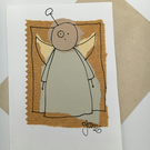 Handmade card: Angel