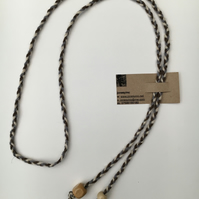 Hand-plaited wrap necklace (number 2)