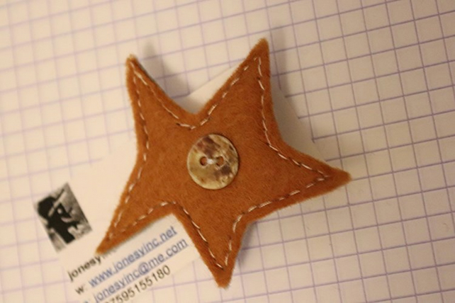 Star Felt Badge