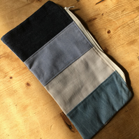 Patchwork zipped pouch (ZP1)