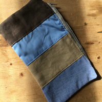 Patchwork zipped pouch (ZP3)