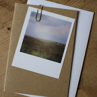 """Polaroid"" style photo card: Landscapes"