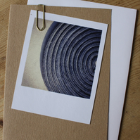"""Polaroid"" style photo card: abstracts and patterns"