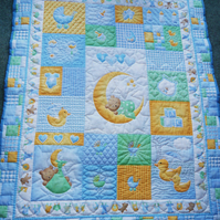 cot quilt    Hand quilted (Sweet Dreams)