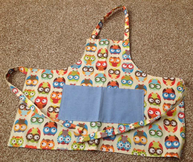 Owl Childs Apron
