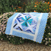 Star patchwork quilt