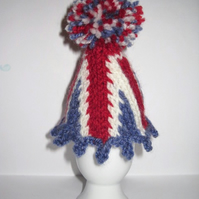 Union Jack Egg Cosy - KNITTING PDF Pattern