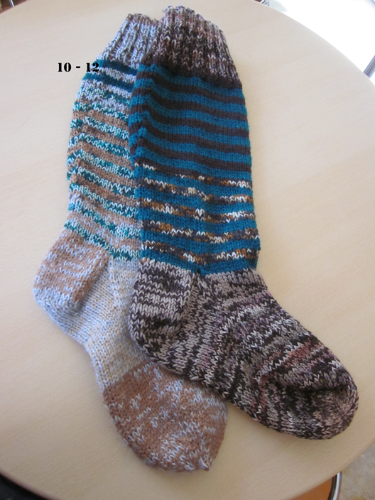 Welly socks size 10 - 12