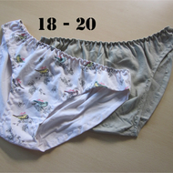 eco pants 18-20, two pairs