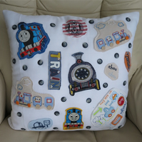 Children's Clothing Motif Cushion