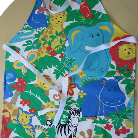 Jungle Print Bib Apron