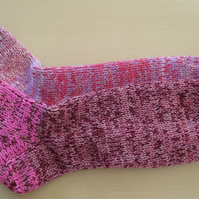Welly Socks 4 - 6 Berry