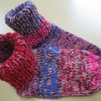 Slipper Socks 4 - 6 berry granola