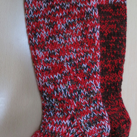 Chunky Welly Socks 1 - 3 autumn pink