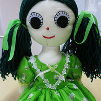 Recycled Rag Doll April