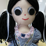 Recycled Rag Doll Wendy