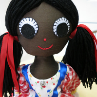 Recycled Rag Doll Casey