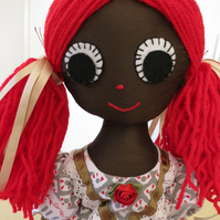 Recycled Rag Doll Red