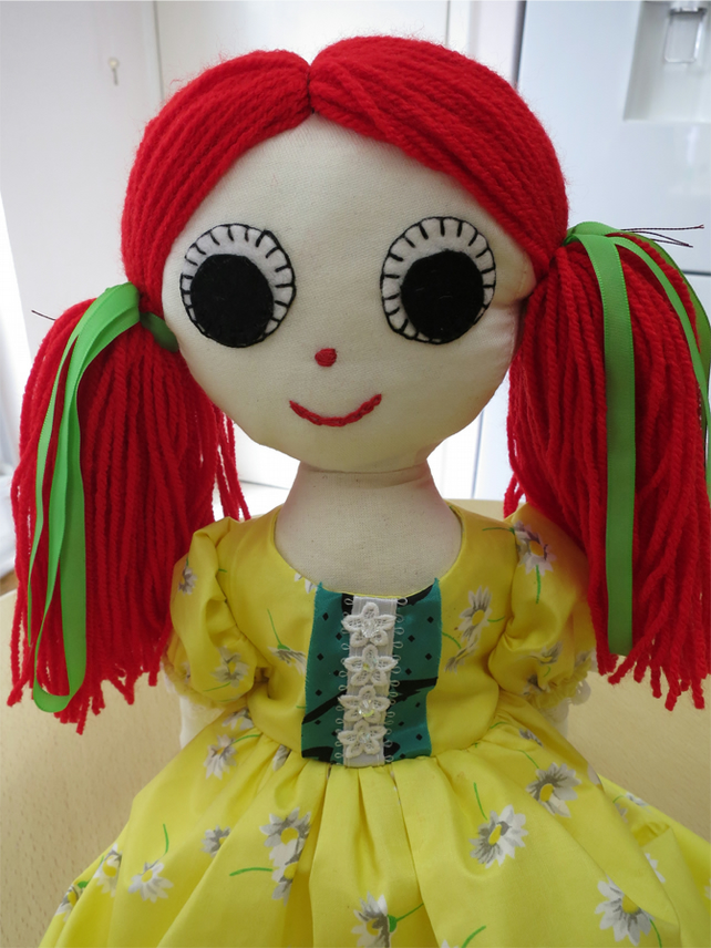Recycled Rag Doll Crystal - January  Sale