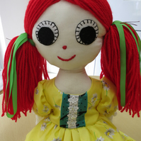 Recycled Rag Doll Crystal