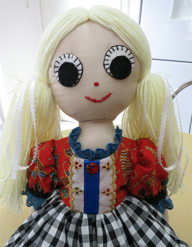 Recycled Rag Doll Ruby