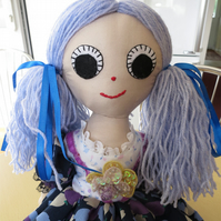 Recycled Rag Doll Rosie